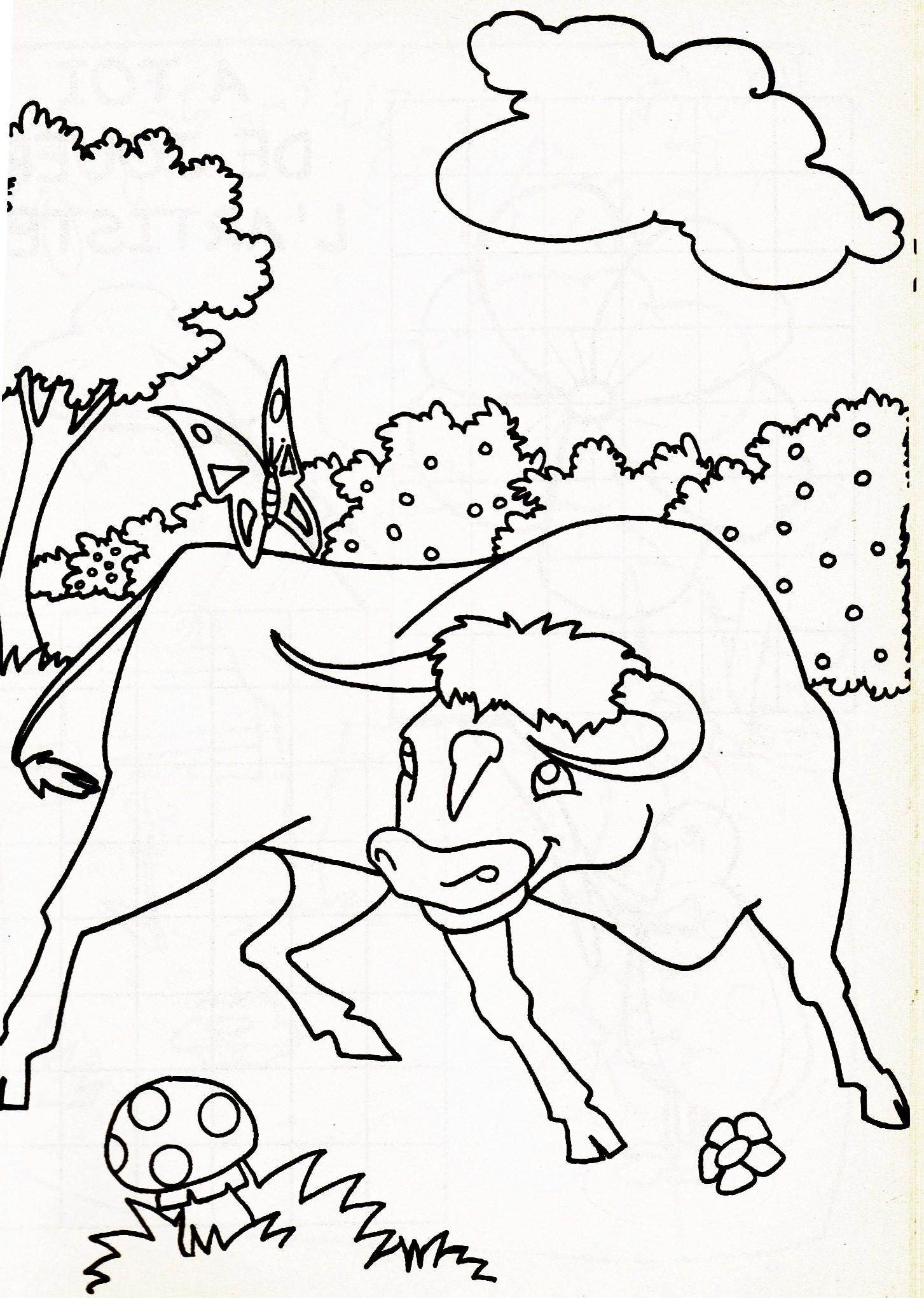 Taureau 4 - Dessin de toro ...